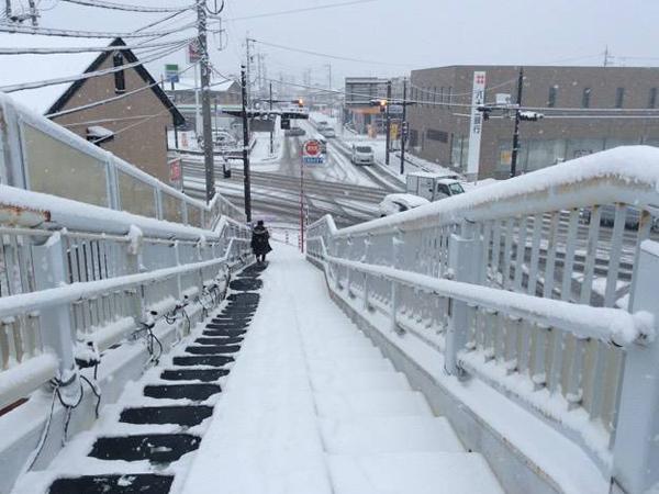 長野県長野市N歩道橋